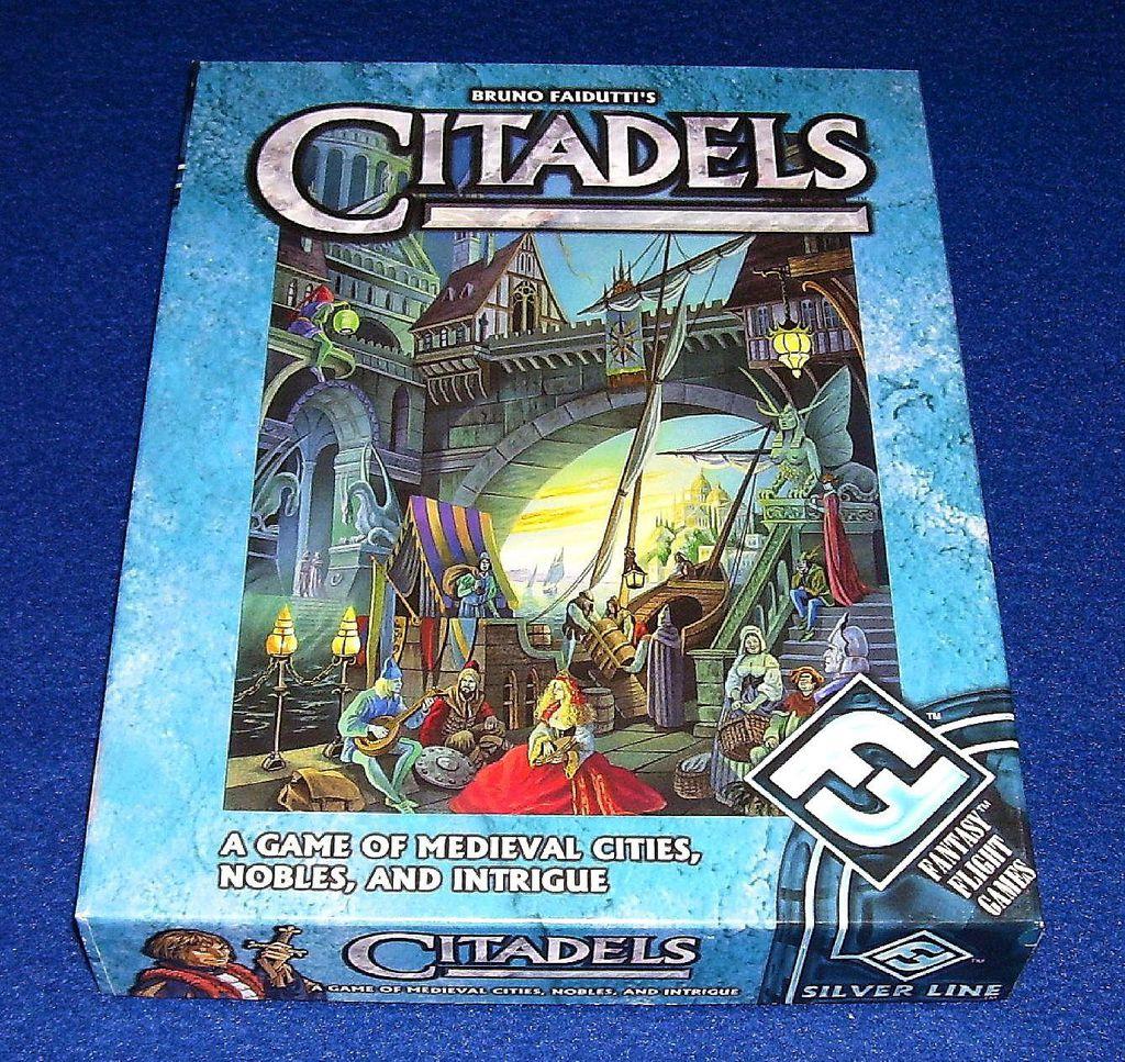 Citadels il gioco da tavolo con ruoli vaganti thumbnail