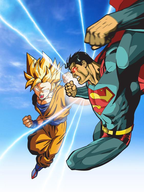Comics vs Manga: Goku contro Superman, chi è il più forte? thumbnail