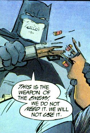 Batman non usa pistole thumbnail