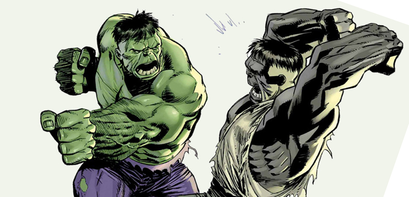 Top Six (+1): Hulk in scala di verde thumbnail