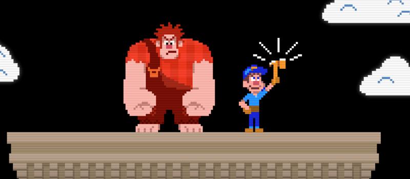 Wreck-It Ralph, l'articolo interattivo thumbnail
