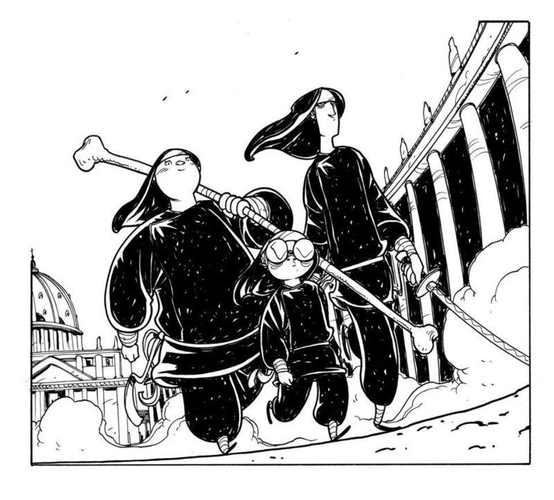 Habemus Suore Ninja: Zombie Gay in Vaticano thumbnail