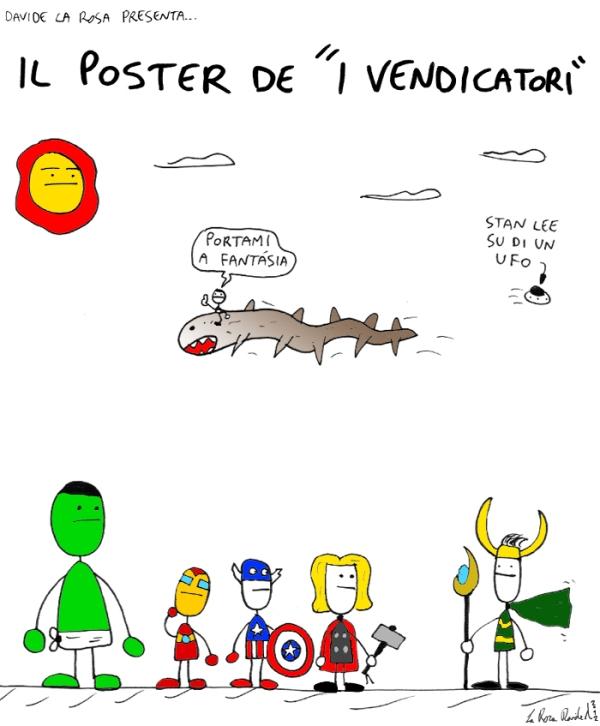 Gli Avengers disegnati male thumbnail