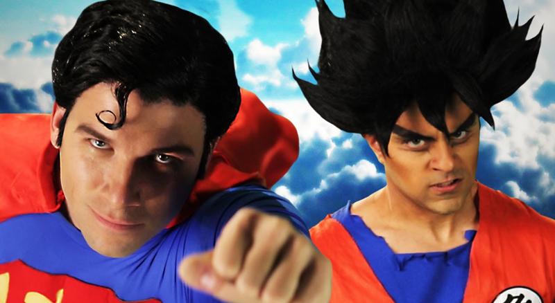 Superman vs Goku: la leggenda di Epic Rap Battles of History thumbnail