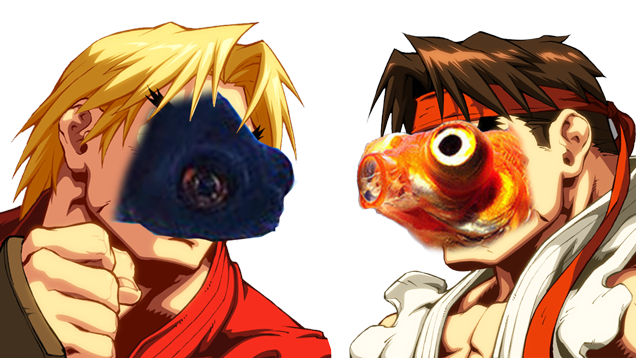 FishPlay Street Fighter: due pesci costretti a combattere thumbnail