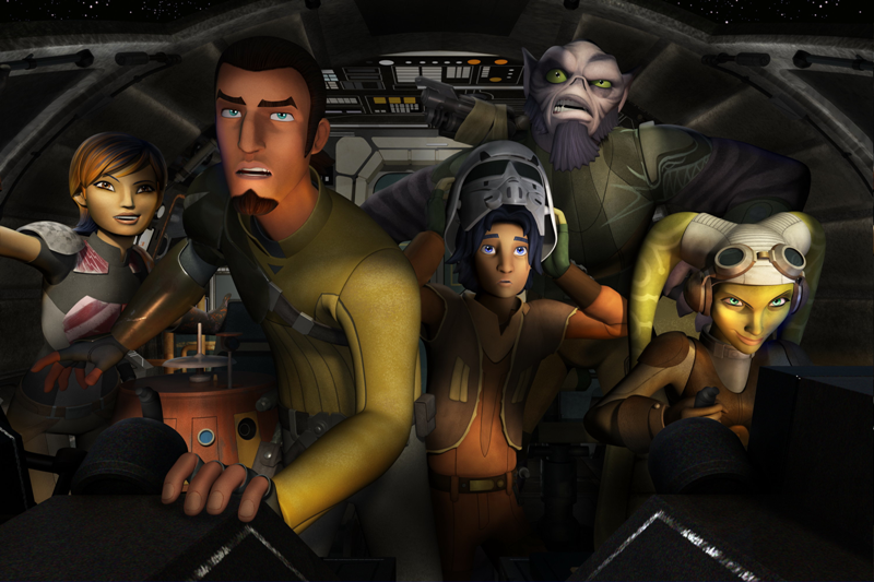 Star Wars: Rebels, l'anteprima: ecco la nuova feccia ribelle thumbnail