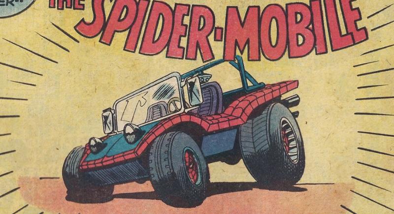 The Amazing Spiderman: sapete che l'uomo ragno ha un auto? thumbnail