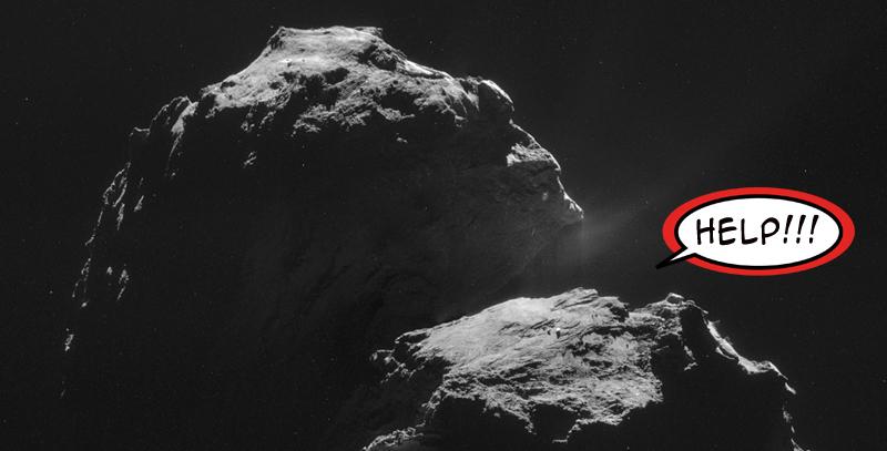 Cronache del ghiaccio e della polvere: un lander in bilico su una cometa thumbnail