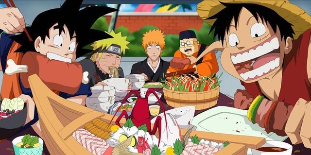 Jump eating contest: i 5 personaggi (+1) dall'appetito senza rivali thumbnail