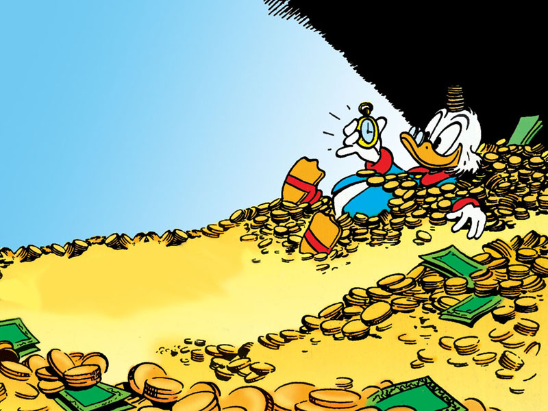 Vita di Paperon de'Paperoni: quanto denaro possiede? thumbnail