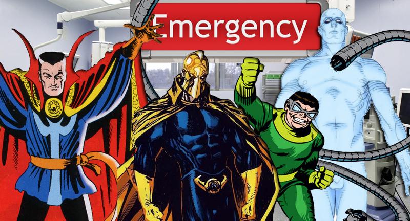 Quanti Dottori fumettistici sono effettivamente medici? thumbnail