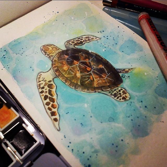 Folkfools: un artbook per salvare le tartarughe marine thumbnail