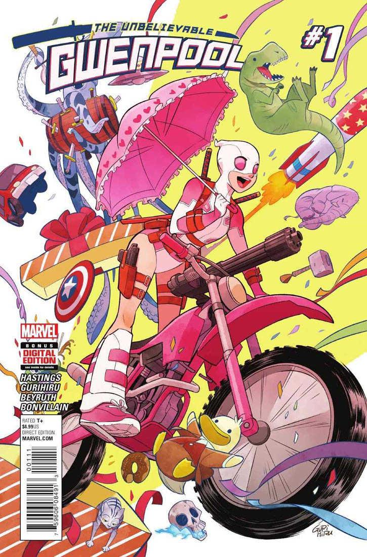 Gwenpool: la pazza in rosa thumbnail