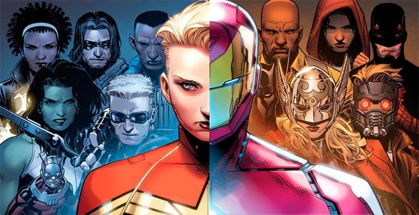 Capitan Marvel Vs Iron Man, una nuova Guerra Civile thumbnail