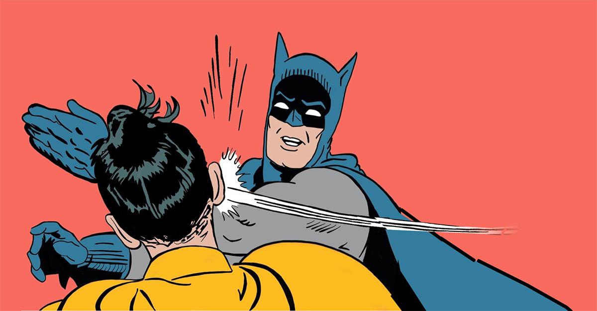 Batman Slapping Robin: le origini del meme thumbnail
