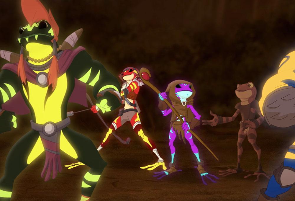 Kulipari: l'Esercito delle Rane - Non serve il veleno per fare un grande guerriero! thumbnail