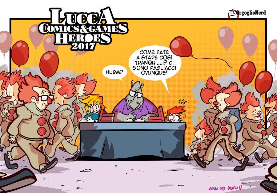 La redazione a Lucca Comics 2017: La Vignetta! thumbnail