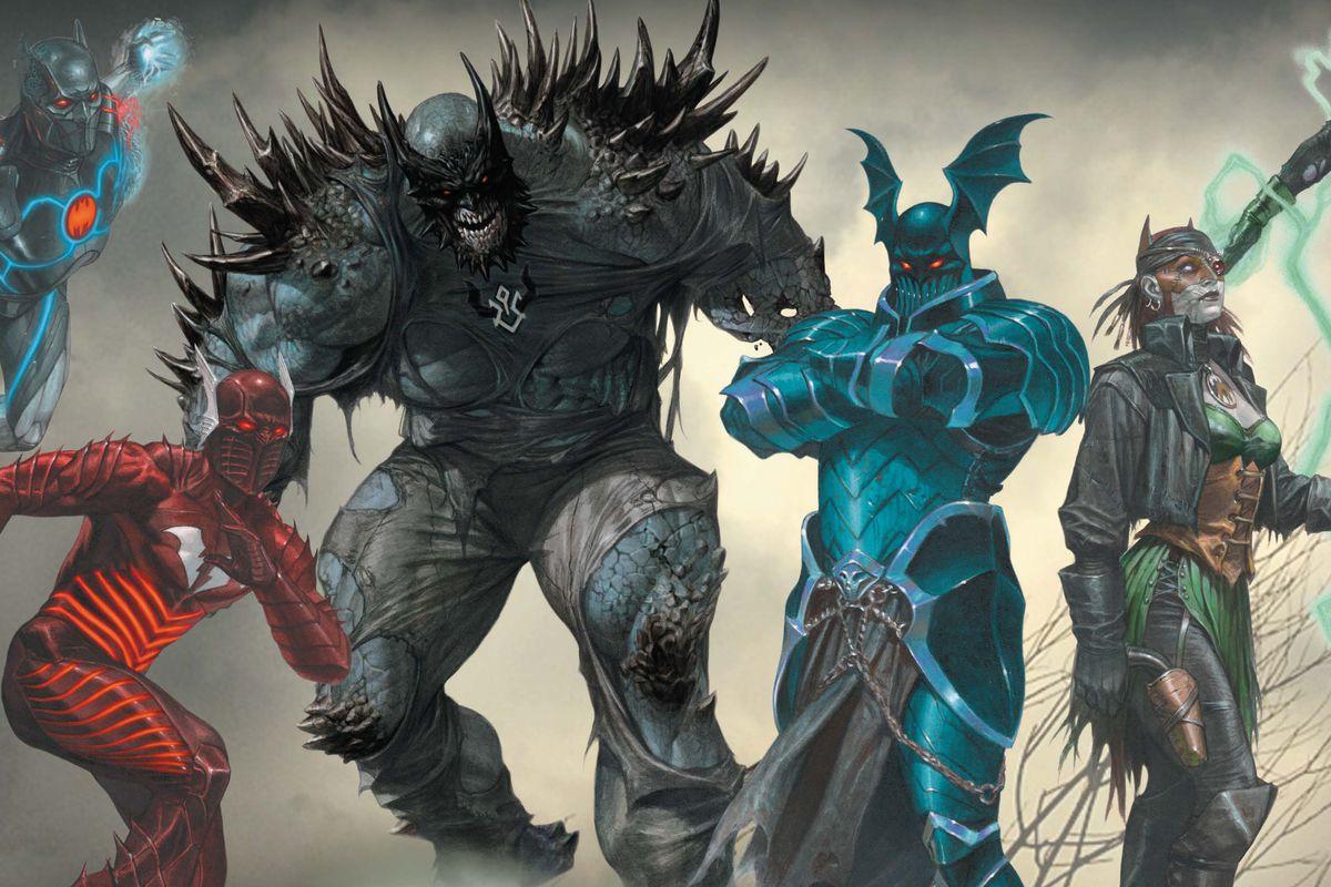 Dark Nights: Metal, l'ora della paura è giunta thumbnail