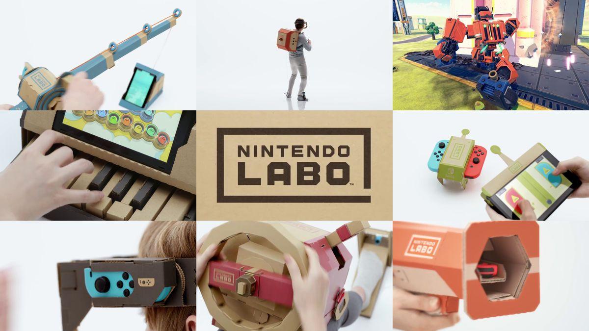 Nintendo Labo: la magia da costruire thumbnail