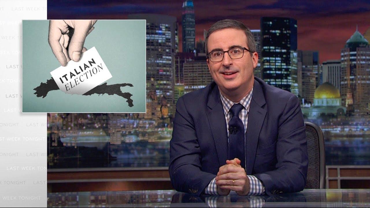 John Oliver e il video sulle elezioni italiane: quando lo dicono gli altri thumbnail