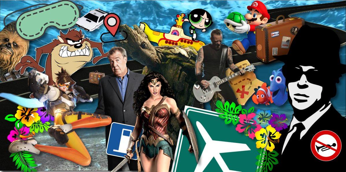 Con quale personaggio vi piacerebbe viaggiare? thumbnail