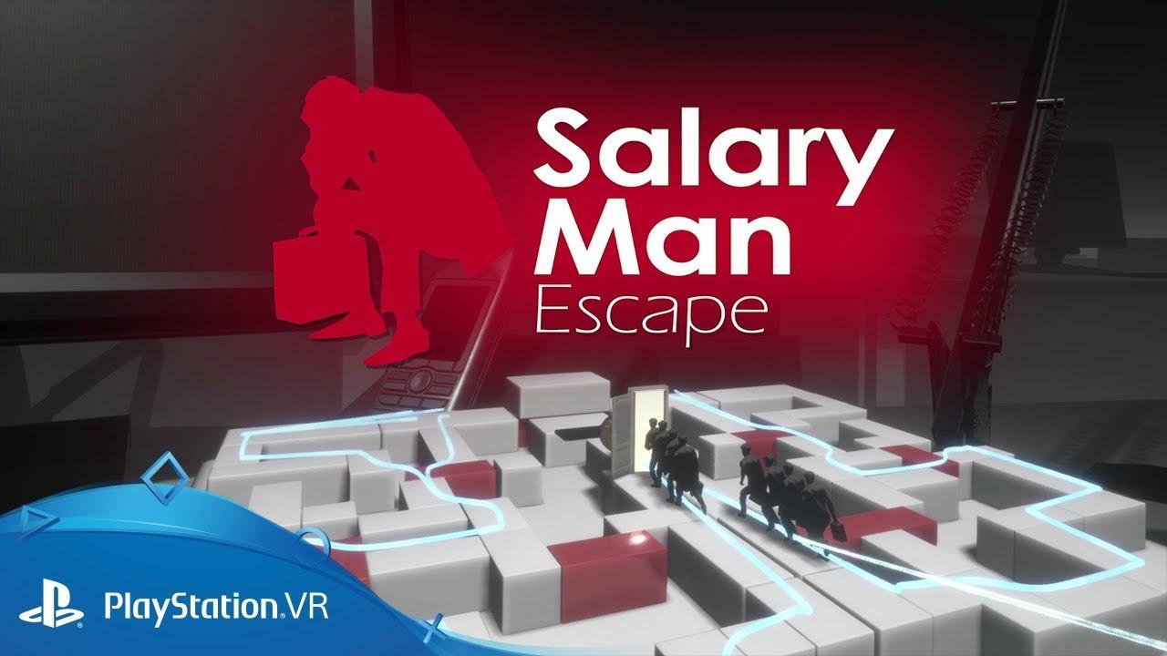 Salary Man Escape - La dura vita lavorativa anche in realtà virtuale thumbnail