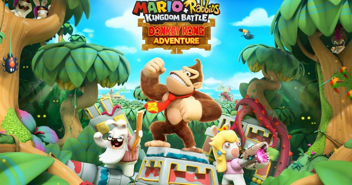 Mario + Rabbids Kingdom Battle Donkey Kong Adventure - Un salto nella giungla profonda thumbnail