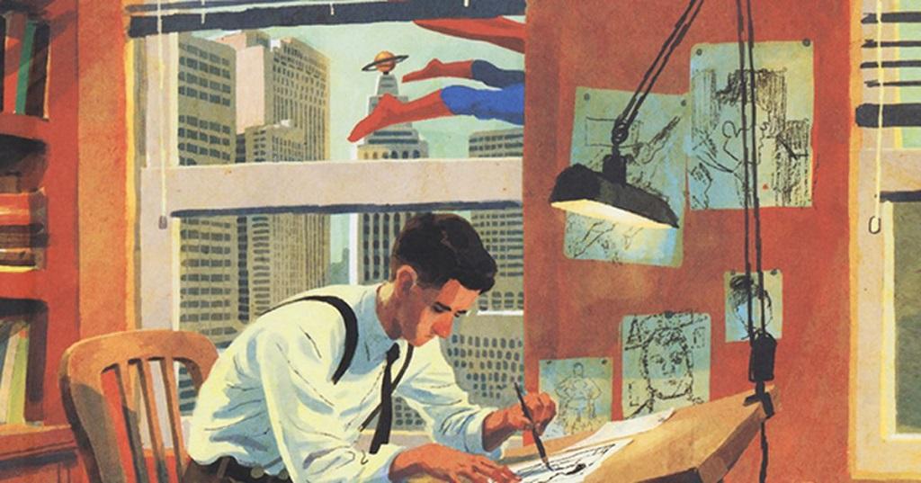 Joe Shuster, la biografia a fumetti sui creatori di Superman thumbnail