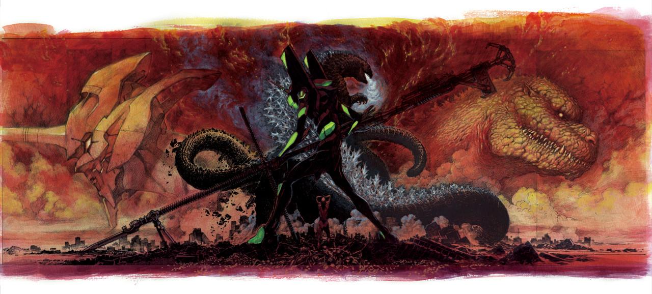 L'EVA 01 e Godzilla combatteranno agli Universal Studios Japan thumbnail