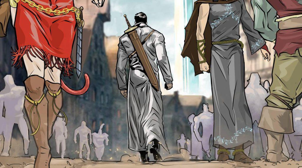 Intermundia Genesis illustrazione