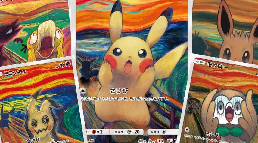 Il Pokémon TCG incontra Edvard Munch: ecco le carte promozionali thumbnail