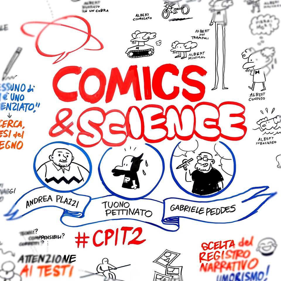 Comics&Science a Lucca Comics thumbnail