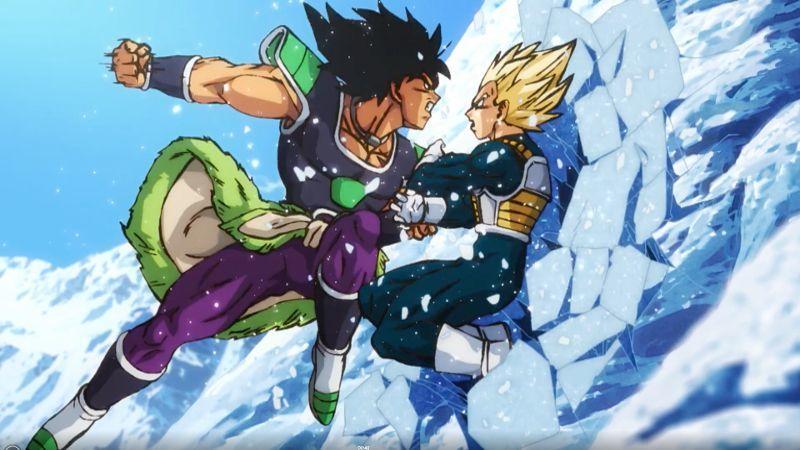 Dragon Ball Super Broly Vegeta vs Broly