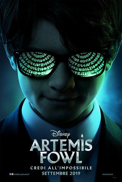 artemis fowl teaser poster italiano trailer data uscita