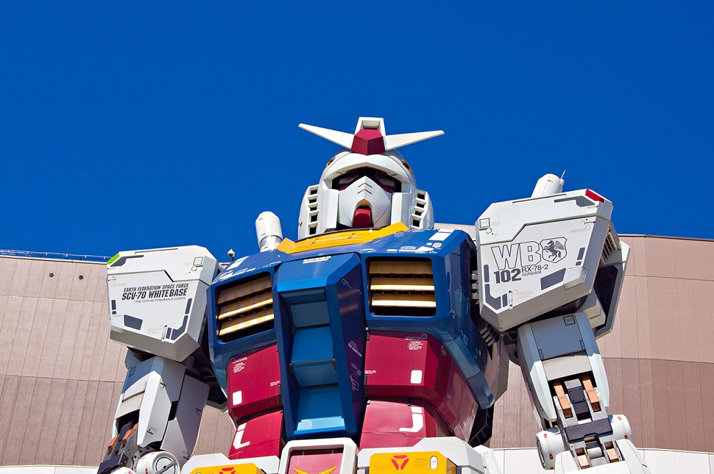 A Yokohama una statua di Gundam in grado di muoversi thumbnail