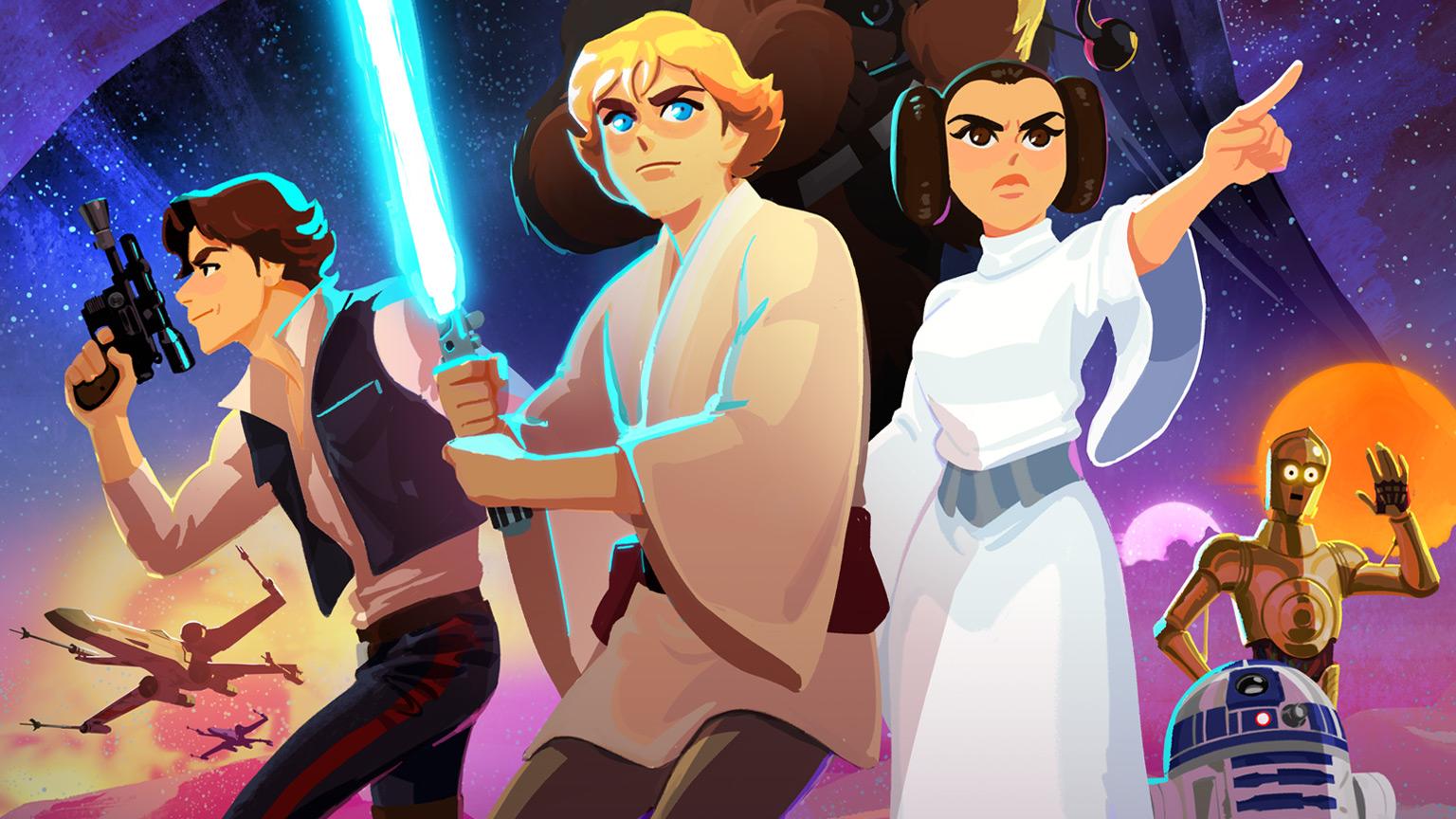 Annunciato Star Wars Galaxy of Adventures thumbnail
