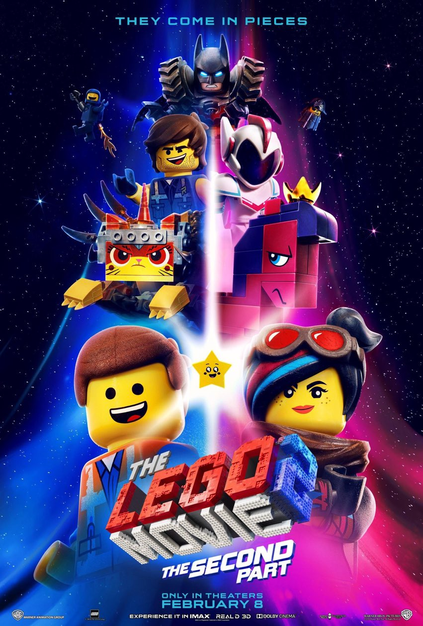 The Lego Movie 2: un nuovo trailer del film d'animazione thumbnail