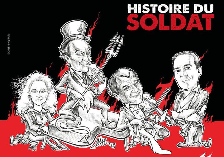 L'Historie du Soldat va in scena a WOW Spazio Fumetto. thumbnail