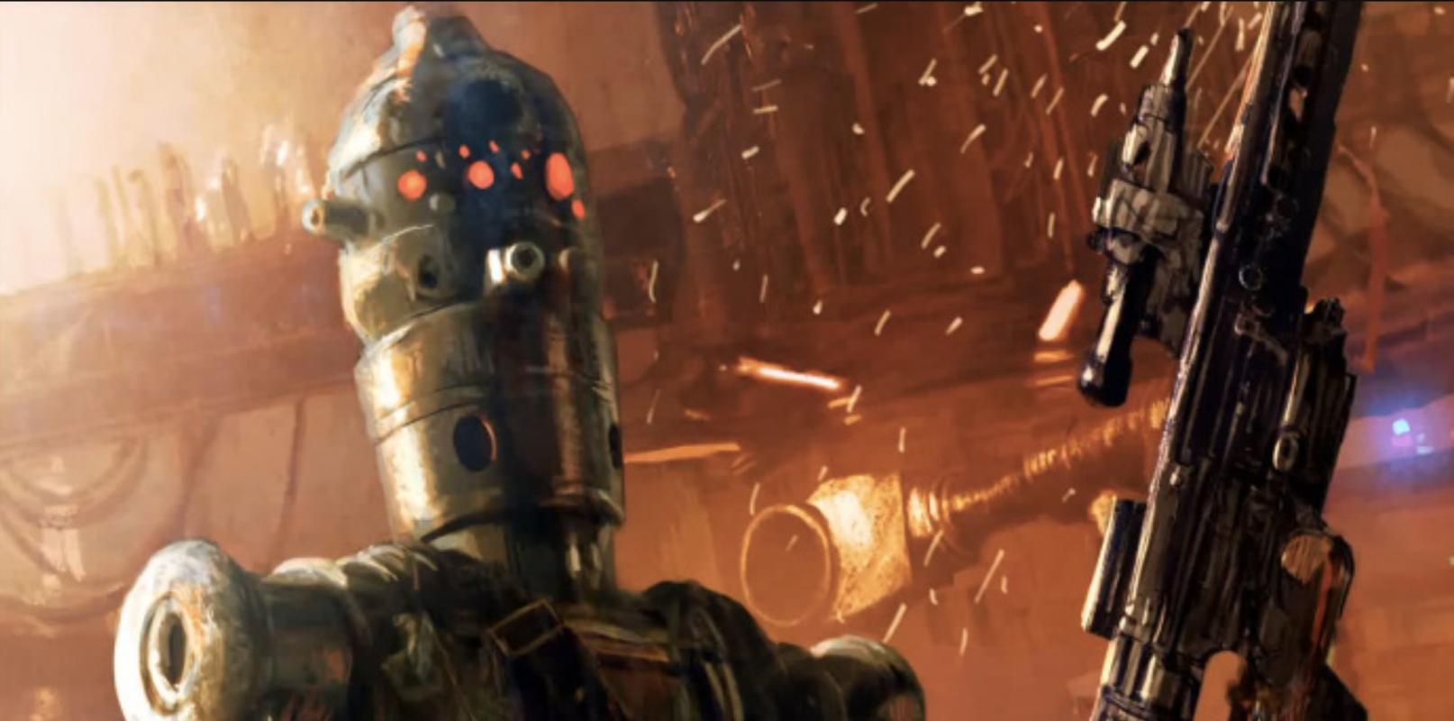 Jon Favreau conferma la presenza di IG-88 in The Mandalorian thumbnail