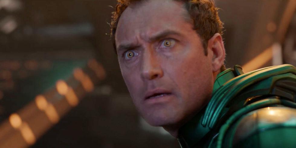 Rivelato il personaggio di Jude Law in Captain Marvel? thumbnail