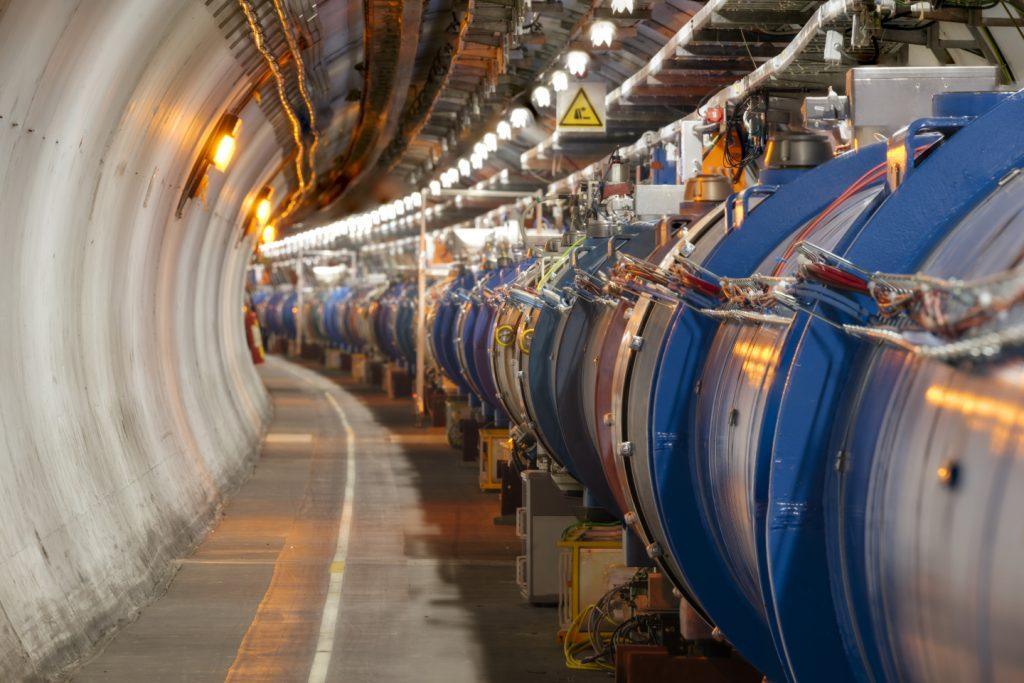 Beampipe di LHC. Credit: CERN