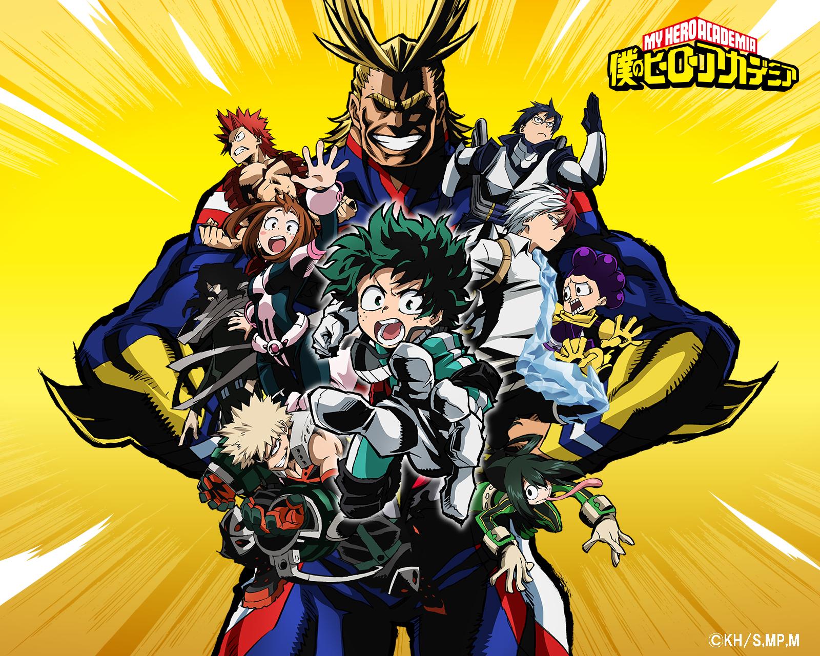 My Hero Academia: annunciata la data di uscita della quarta stagione thumbnail