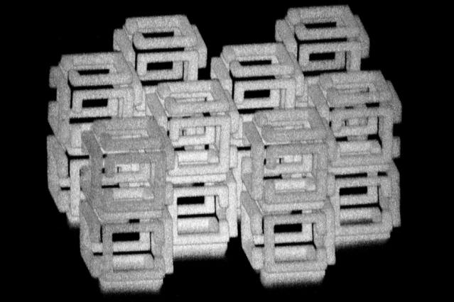 Nanostruttura. Credit: Daniel Oran