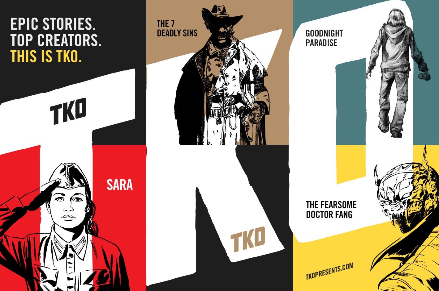 TKO Studios reinventa l'industria del fumetto thumbnail