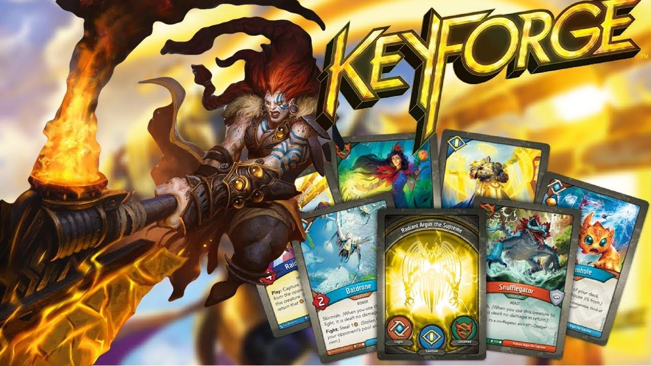 Keyforge: opinioni a un mese dal lancio thumbnail
