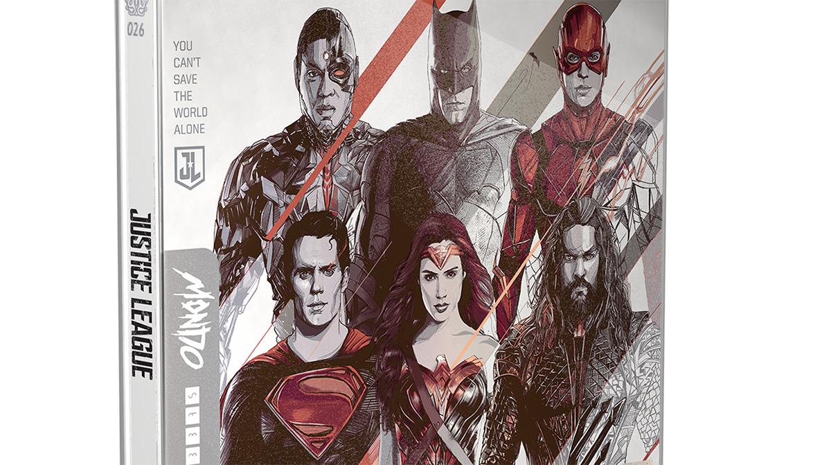 Justice League e 300 entrano nella collezione Mondo x Steelbook thumbnail