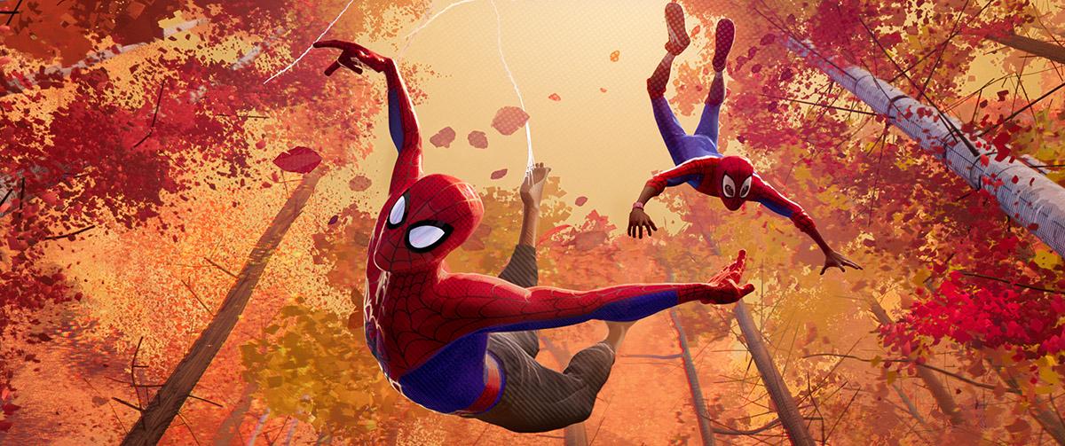spider-man un nuovo universo miles morales peter parker sony