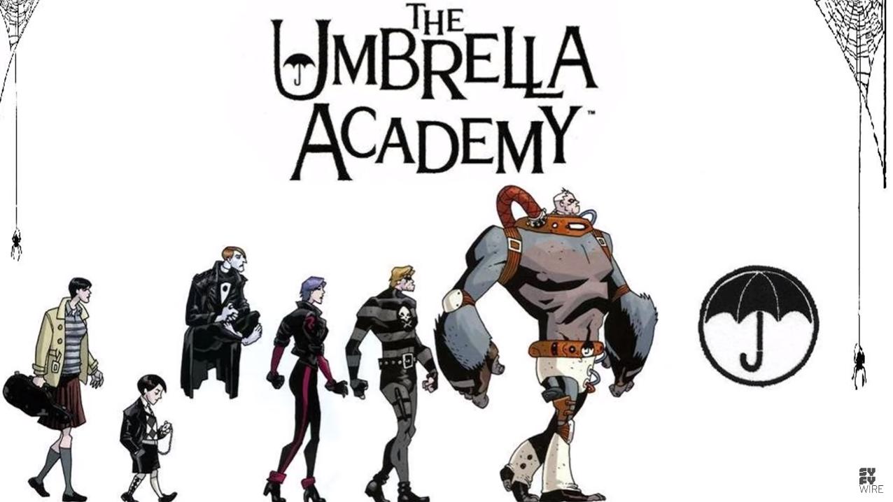 The Umbrella Academy: le origini a fumetti della famiglia Hargreeves thumbnail