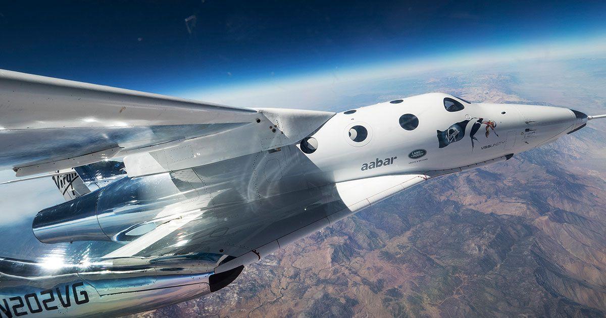Virgin Galactic: secondo test di volo riuscito per SpaceShipTwo, VSS Unity thumbnail
