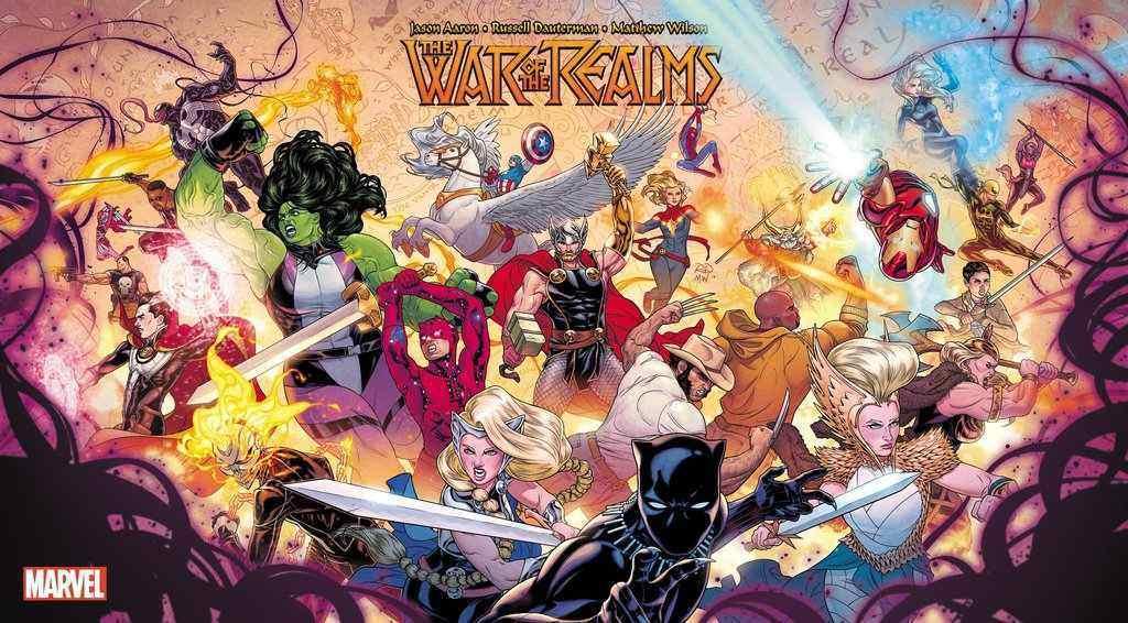 Trailer per War of the Realms, prossimo evento fumettistico Marvel thumbnail
